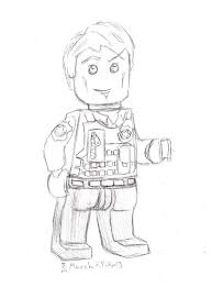 Chase Mccain Coloring Pages Lego Chase Minifigure Letoanco
