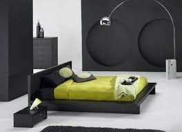 black wood bedroom furniture. Modern Black Wood Bed Frame Furniture Master Bedroom Design I