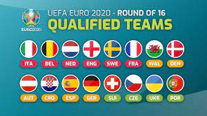 UEFA EURO 2020 (2021) - ROUND OF 16 - ALL QUALIFIED TEAMS