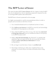 Examples Of Letter Of Intent 020 Template Ideas Sample Letter Of Intent Rfp 620749