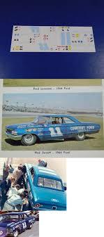 Fred Cady Design Decals 145963 Ned Jarrett 11 1964 Ford Galaxie Courtesy