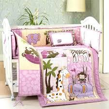 safari crib bedding set jungle themed nursery bedding sets pink safari baby bedding set designs jungle