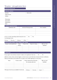job application form template 14 employment application form examples pdf