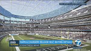 Rams Chargers Ready To Sell Best Seats At New Stadium