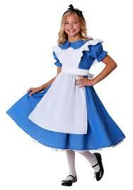 Alice You Size Chart Girls Alice In Wonderland Costume