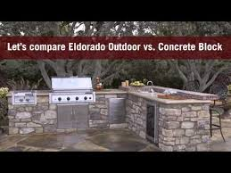 how to build an outdoor kitchen by eldorado outdoor