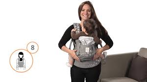 How Do I Front Carry in the Ergobaby Carrier - YouTube
