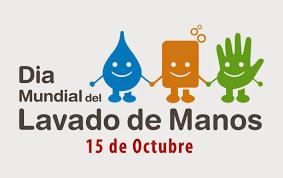 Resultado de imagen de hoy dia mundial del lavado de manos