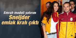 Wesley Sneijder kazandığını mülke yatırmış