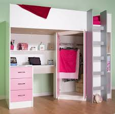 box room furniture. high sleeper cabin bed with desk and wardrobe calder m2270 get in box room furniture