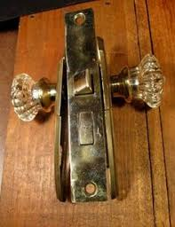 Glass door knobs antique Fake Door Rare Vintage Glass Door Knob With Locking Hardware By Kimberlyhahn 19400 Pinterest 87 Best Glass Door Knobs Images Door Handle Door Handles