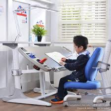 kids study furniture. Intelligent Kids Study Desk , Chair And Top Compartment With Wide LED Light 3.0 Furniture C