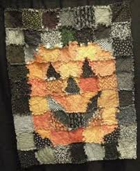 Snowman Rag Quilt - mostly Moda Aspen Frost line. | My Quilts ... & halloween quilts patterns | Photo album created with Web Album Generator Adamdwight.com