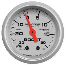 Autometer Gauge Light Amazon Com Auto Meter 4301 Ultra Lite Mechanical Boost