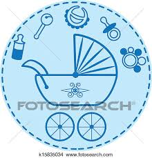 Baby Things Clipart Clipart Of Baby Things Collection K15835034 Search Clip Art