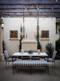 mediterranean outdoor lighting. Mediterranean Chandeliers Patio With Outdoor Dining Lights Lighting