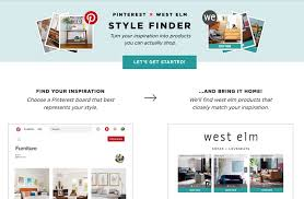 west elm style furniture. West Elm X Pinterest Style Finder Furniture