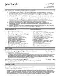 52 Best Information Technology It Resume Templates Samples