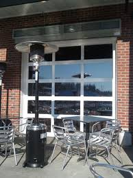 glass garage doors restaurant. Fine Restaurant Glass Restaurant Doors Colorado Aluminum And Commercial Garage Inside E