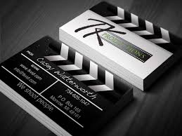 Cool Design Cards Custom Design Business Card Template Videographer Design