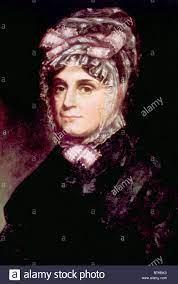 Anna Harrison (1775-1864), First Lady 1841, portrait by Cornelia Stock  Photo - Alamy