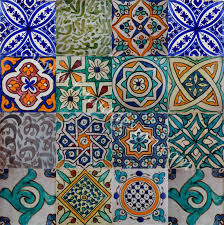 Moroccan Style Kitchen Tiles Moroccan Hand Painted Cement Tile Hand Painted Hollywood And