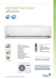 york air conditioner cover. high wall fixed speed air conditioner (8.85kw to 10.5kw) york cover