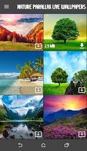 3D Parallax Live Wallpaper Nature for ...