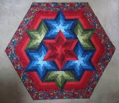 QuiltinGal Barbara H. Cline: Tutorial & In my book Simply Triangles, page 41 is the