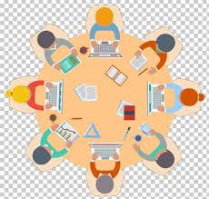 round table meeting office png clipart brainstorming business cartoon conference centre drawing free png