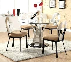 glass pedestal dining table unique round glass dining room table about remodel home design round glass
