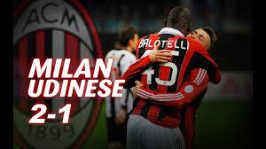 Milan-Udinese 2-1