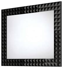 framed modern mirror. Diamond Shape Black Bathroom Mirror Modern Designing Interior Room Motive Frame Cool Concept Hanging Framed O