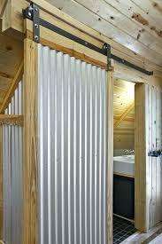 corrugated metal shower corrugated corrugated metal shower curtain