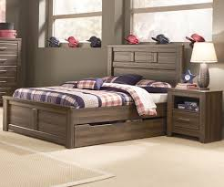B251 Juararo Trundle Bed Boys full size trundle beds
