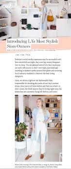 Racked La Racked La Kristen Cole Most Stylish Shop Owners Tenoversix