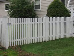 white privacy fence ideas. Amusing White Painted Fence Pickets With Lawn For Garden Ideas And Landscape Design Privacy C
