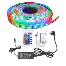 Bảng giá Bộ đèn led 5m 3528RGB trang trí khung tranh + Nguồn + Remote