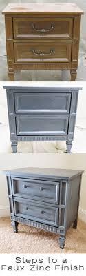 Zinc Finish Furniture Furniture Re Purposed 20 Pics