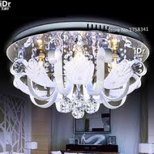 online shopping round ceiling lights crystal lamps bedroom modern minimalist fashion artistic led lighting fixtures resta artistic lighting fixtures