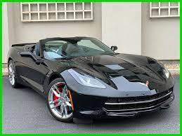 Ebay Advertisement 2016 Chevrolet Corvette Stingray Z51 2016 Corvette Stingray Z51 Conv 1 Owner Corvette Stingray Chevrolet Corvette Stingray Black Corvette