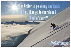 Skiing Quotes Magnificent Funny Skiing Quote Quote Number 48 Picture Quotes