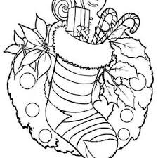 Small Picture stocking coloring pages