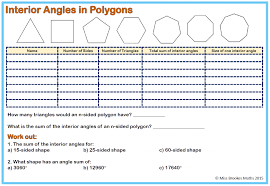 Kindergarten Angles And Polygons Miss Brookes Maths Ks3 Worksheets ...