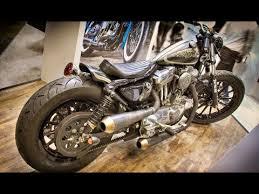 harley davidson sportster custom bobber build by hide motorcycle