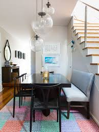 eclectic dining room designs. Small Eclectic Dining Room In Sydney With No Fireplace. Designs