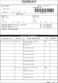 doc packing slip packing slip template for excel layout and preferences packing slip
