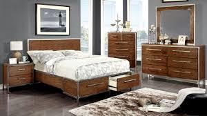 Platform Bed Bedroom Set California King Bedroom Sets Edmonston 4pc Rich Espresso Storage