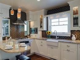 Kitchen Subway Tile Ideas For Kitchen Backsplash Tiles With Granite Santa Cecilia