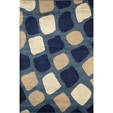 indigo blue geometric chindi reversible amarah area rug 8 x on free modena geometric country blue area rug